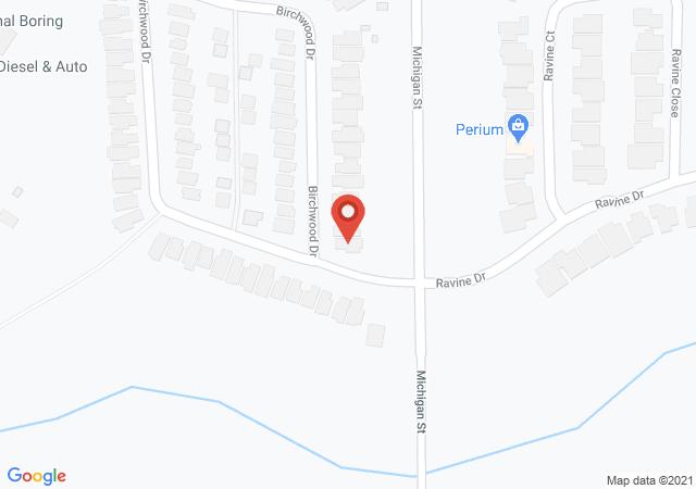 Google map image of 305 Birchwood Dr, Devon, AB, T9G 2H9, CA